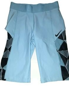 Nike Court Dri-Fit Blue Medium Biker Shorts